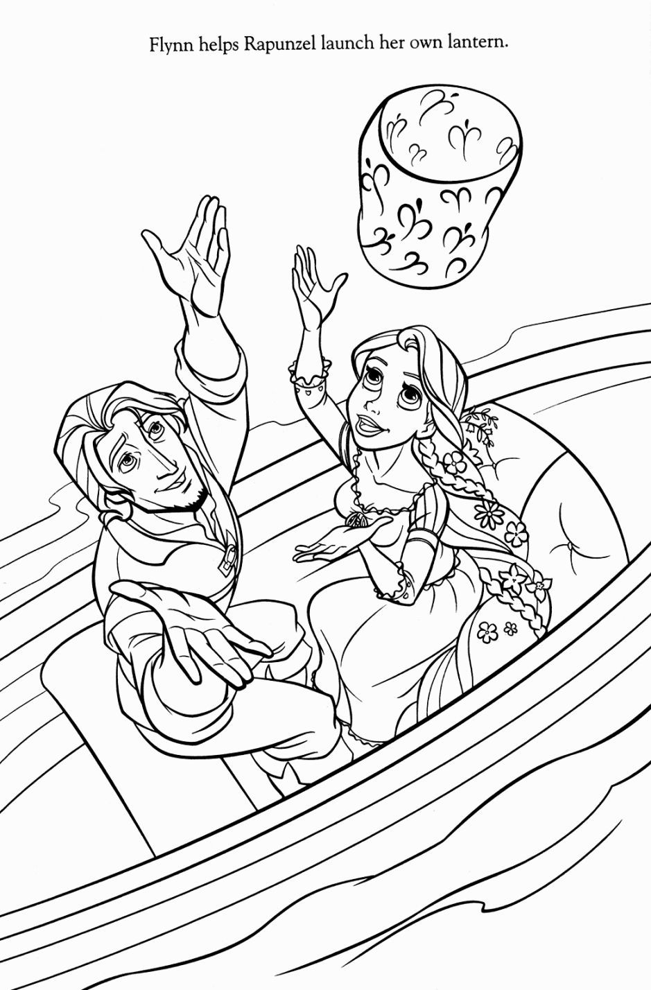 Tangled Coloring Pages Coloring Pages Pinterest Tangled