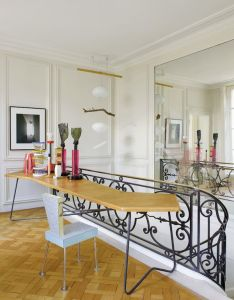 Memphis in paris  classic french home filled with sottsass also rh uk pinterest