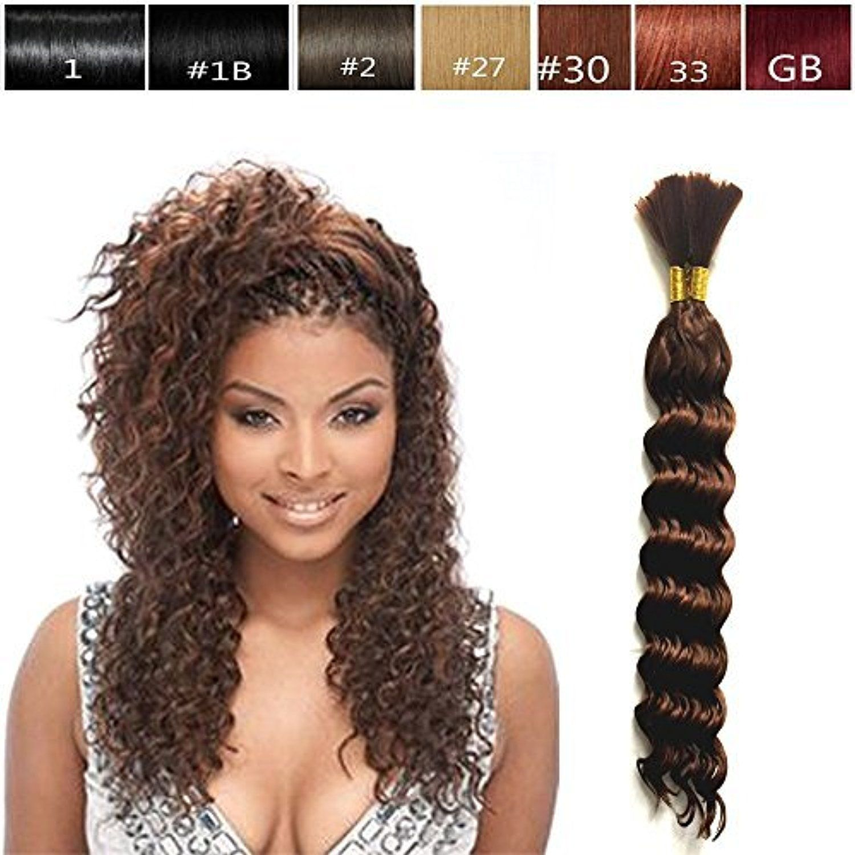 Hot Selling Deep Bulk Braiding Hair, Human Hair Quality