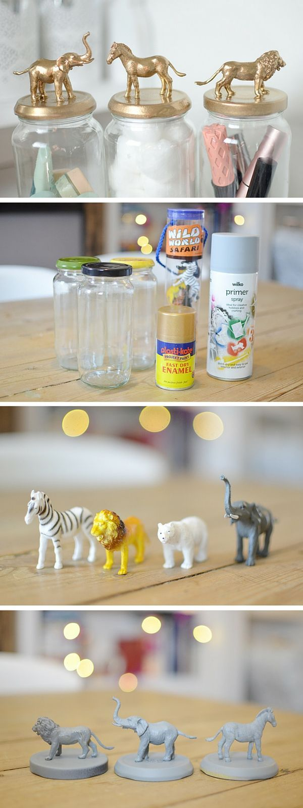 DIY Flower Jars Such A Cute And Fun Home Decor Craft Idea Using