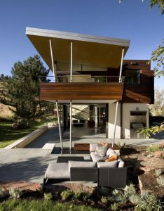 Arch designed the syncline house located near boulder colorado also rh pinterest