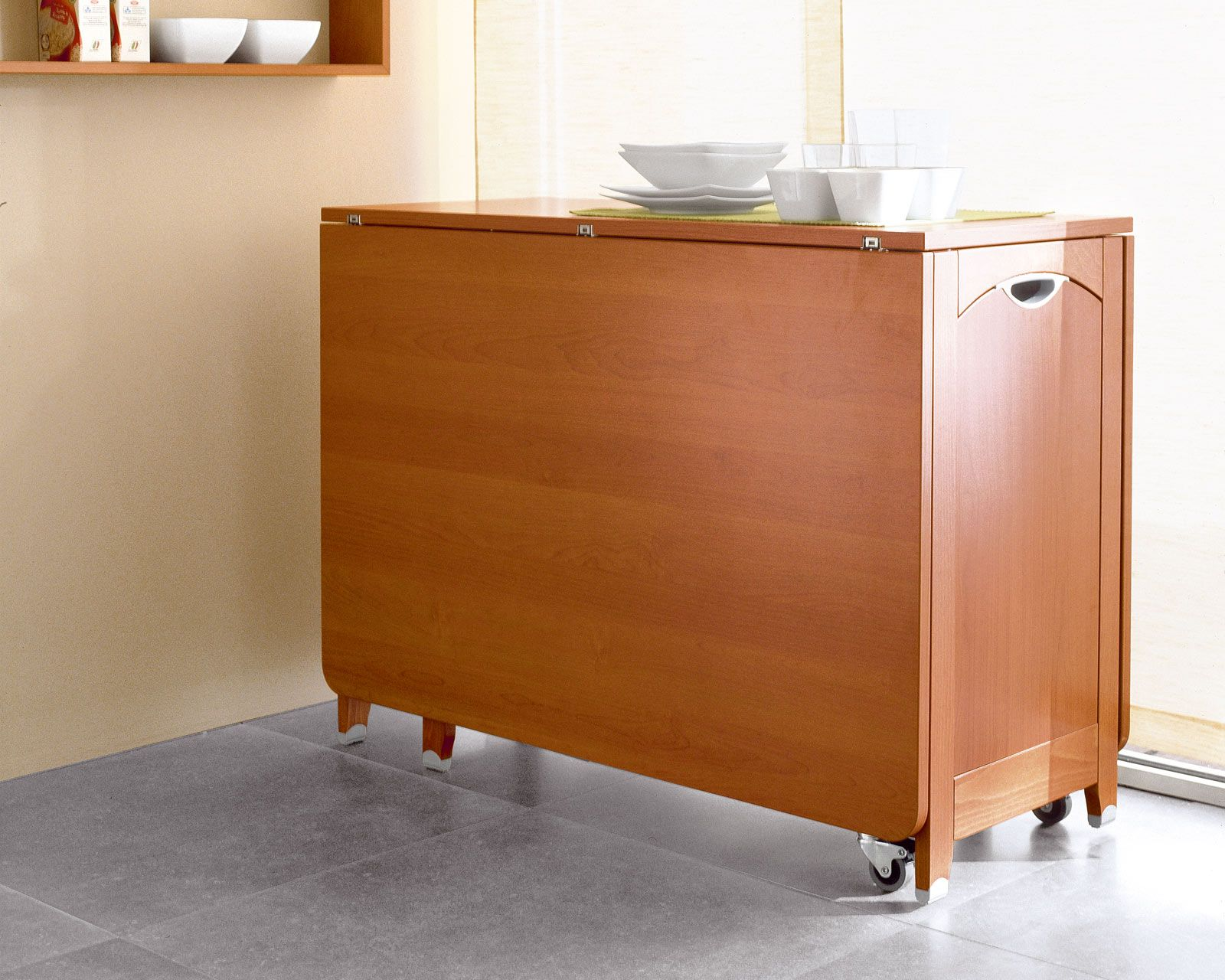 kitchen storage table cabinet makeovers drop leaf with elegant