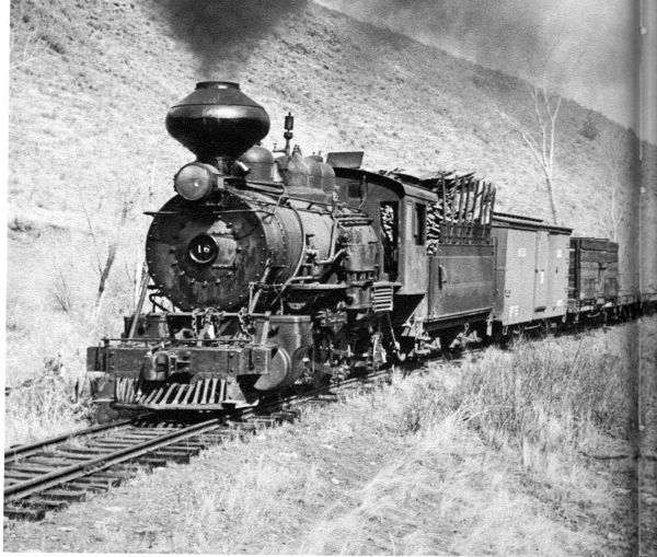 Locomotive Baldwin 385 Ca 1897
