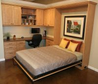 Murphy Bed home office- work even when you have guests ...