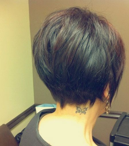 Latest Bob HairStyles Back View Of Short Haircuts Latest Bob