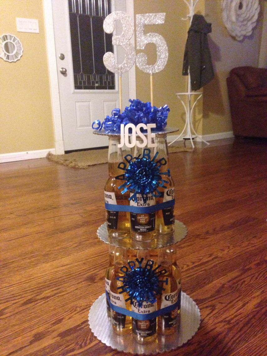 Corona Beer Bottle Birthday Cake I Bought A 12 Pack And 3