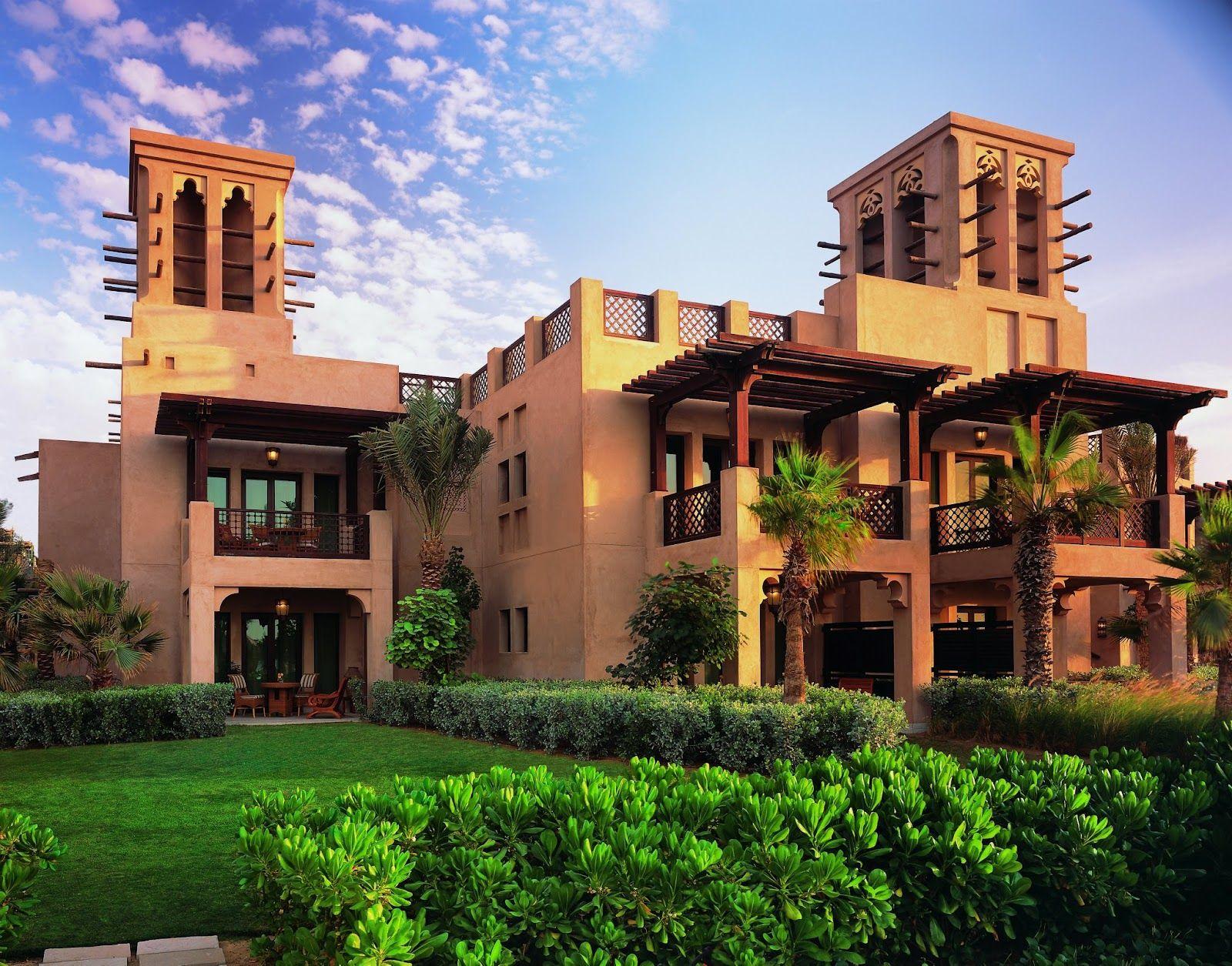 Arabic Home Designs Elevation Dubai Arabian HOuse 3D Front