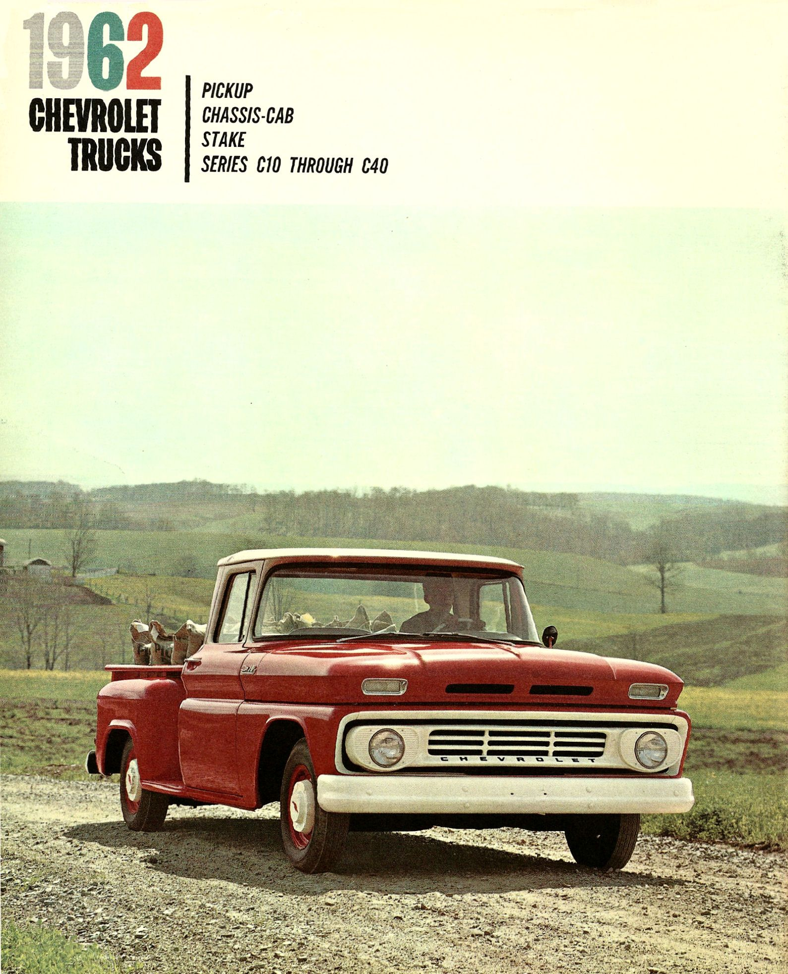 1962 C10 Chevy Truck Wiring Diagram Page 4