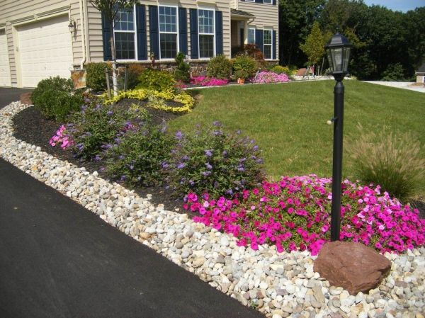 diy landscaping ideas front
