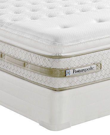 Sealy Posturepedic California King Mattress Set Castle Hill Ltd Cushion Firm Euro Pillowtop Mattresses Macy S