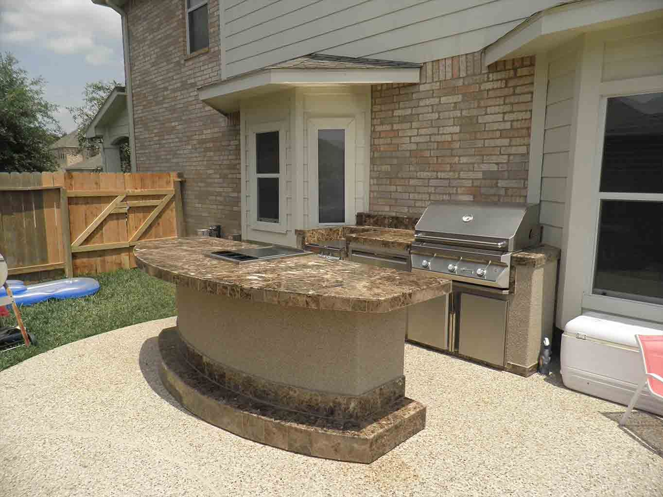 photos of outdoor kitchens and bars ideas outstanding backyard patio with