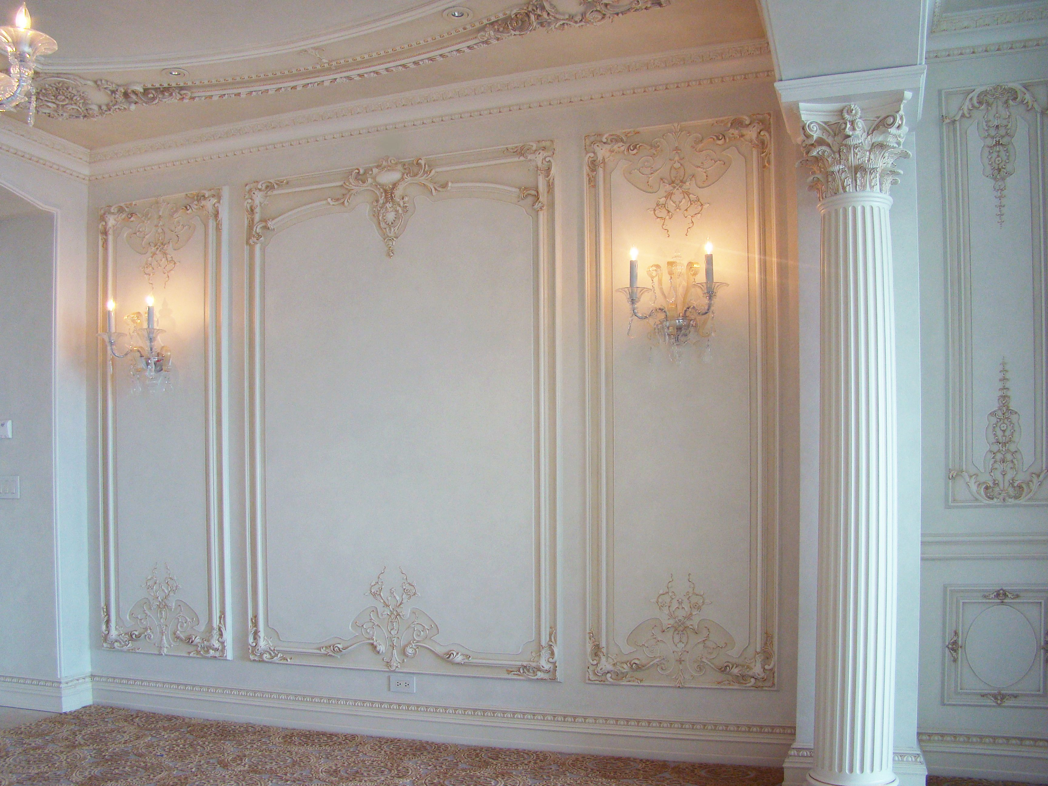 French Boiserie Panel Wall