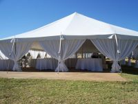 making leg drapes for tents - Google Search | wedding ...