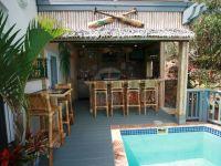 Northside villa rental - Full Tiki Bar and Outdoor Kitchen ...