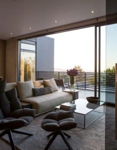 Concrete house inside outside bedroom nico van der meulen architects  square lifestyle also rh pinterest