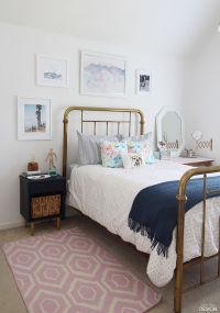 Young Modern Vintage Bedroom | Teen, Inspirational and ...