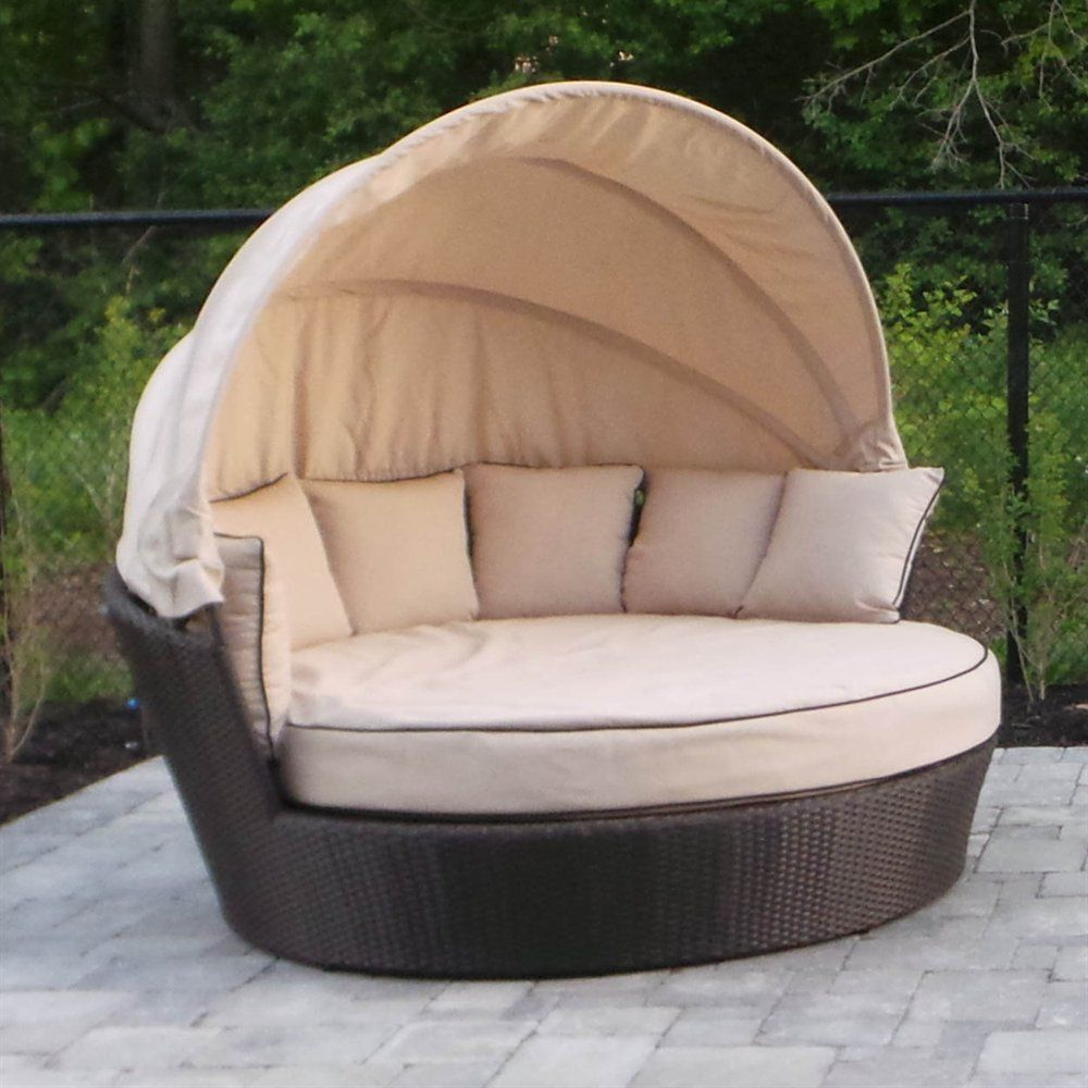 Shop WD Patio 5TAO Round Tao Day Bed at Lowes Canada