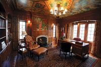 """Interior of Thornwood castle where """"Rose Red"""" by Stephen ..."""