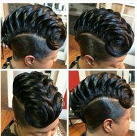 3d braid | Braid styles | Pinterest | Hair style, Black ...