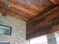 Reclaimed lumber skip planed oak ceiling. #reclaimedlumber ...