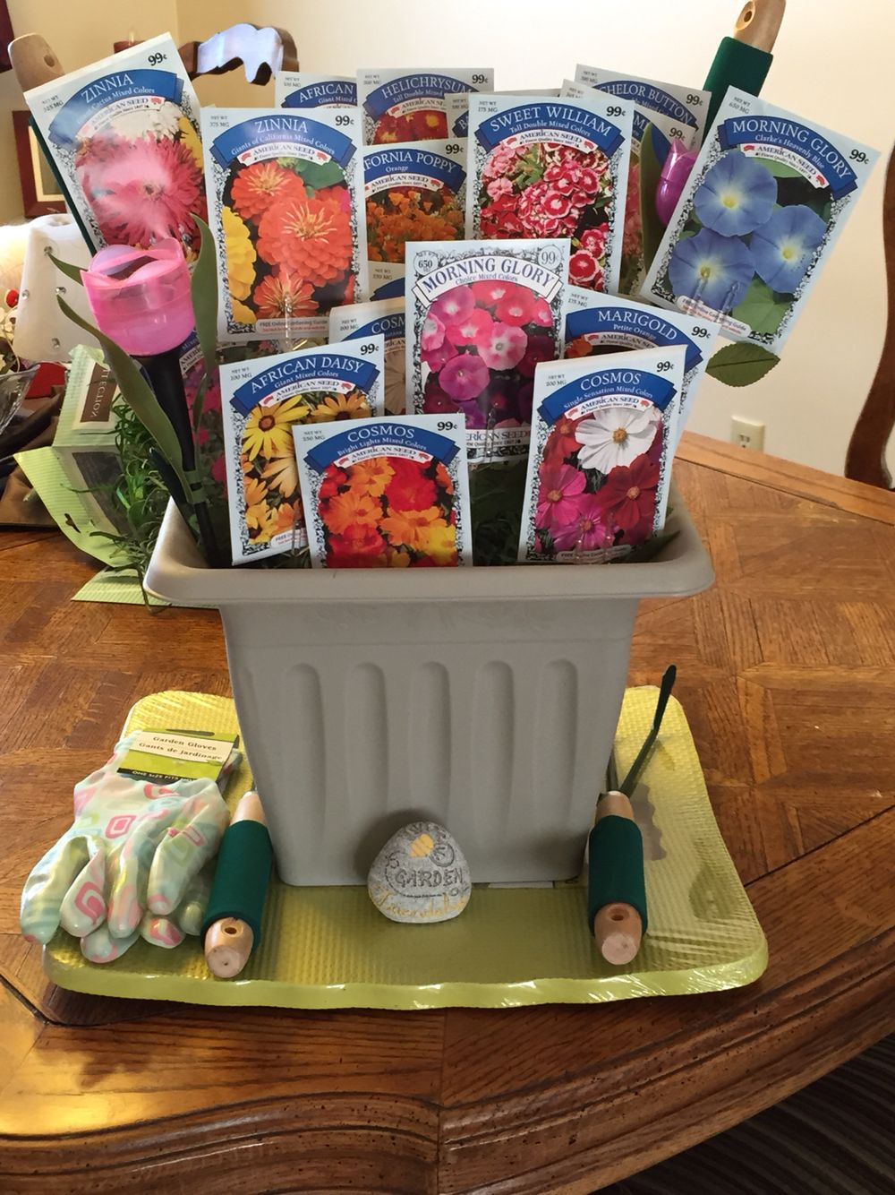 Thinking Spring Raffle Basket!! Crafts Pinterest Gardens