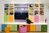 Toy storage for kid's playroom | Homeschool Classroom ...