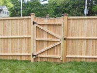 Fence Gate Designs | Cedar Lattice with Gate | Fences ...