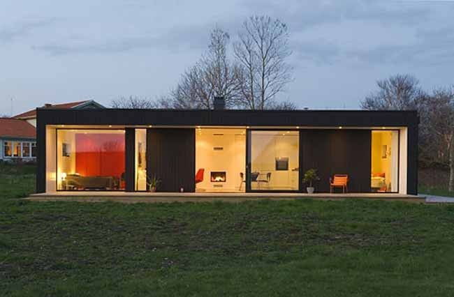 Prefab Home Design Inspired By The 1950s Vintage Look Wave