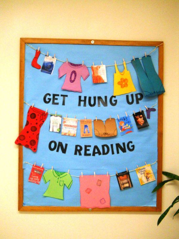 Hung Reading Bulletin Board Boards