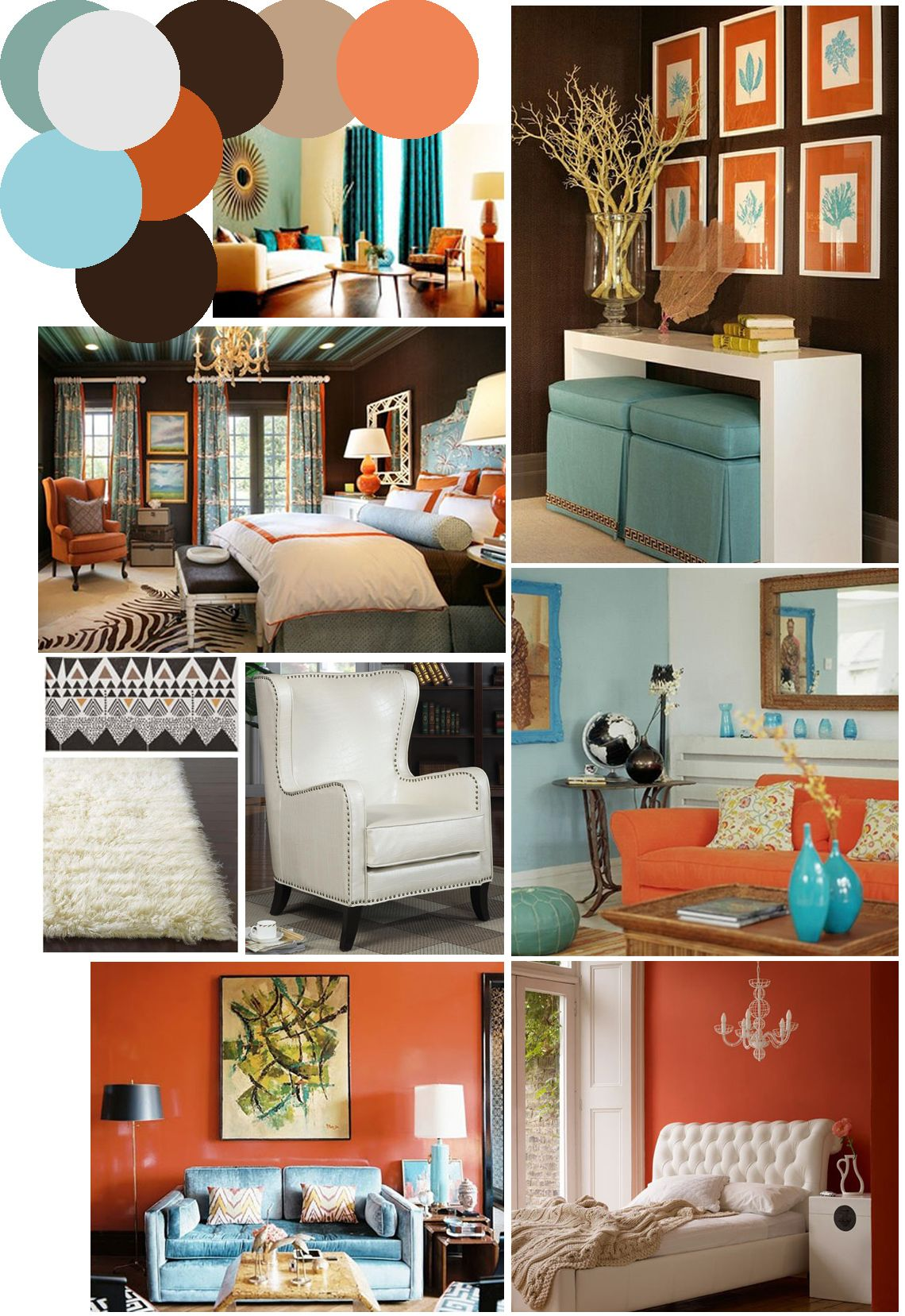 burnt orange living room accessories design for small rooms curtains on pinterest | decor ...