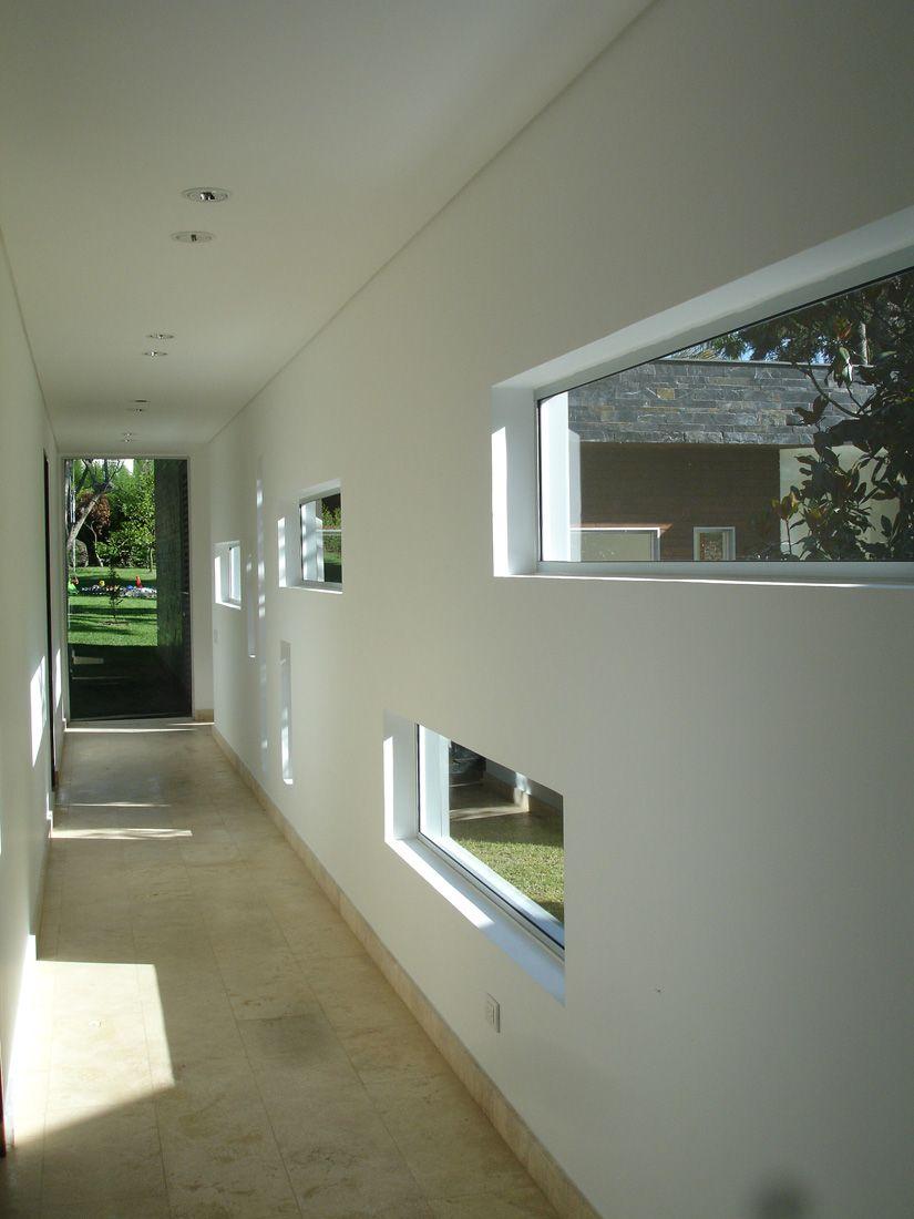 Interior Wall Window Design