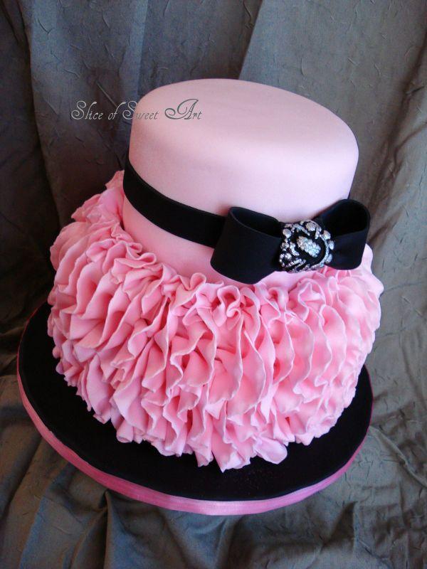 Make Tana Cannon ; Pink Ruffle Birthday