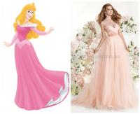 Sleeping beauty inspired wedding dress   Disney Fairytale ...
