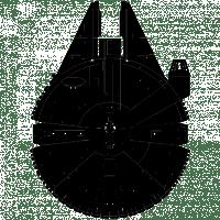 Image result for dIBUJO HALCON MILENARIO STAR WARS