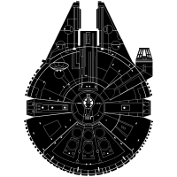 Image result for dIBUJO HALCON MILENARIO STAR WARS | baby ...