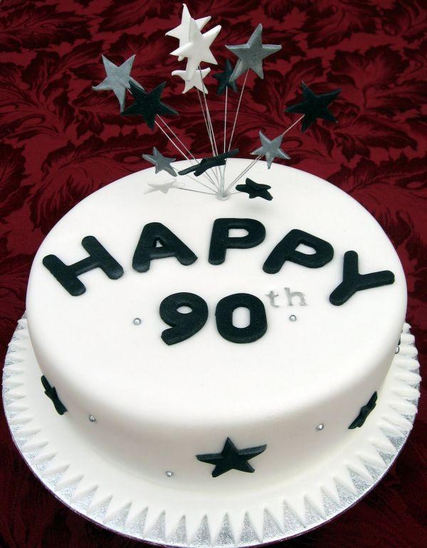 90th Birthday Cake Ideas For Men