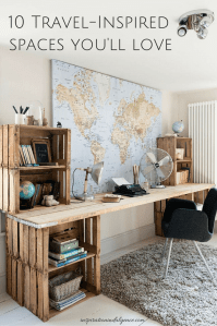 10 Travel-Inspired Spaces You'll Love | Beautiful space ...