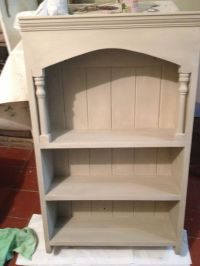 Small bookcase painted in Annie Sloan Chalk Paint (Country ...