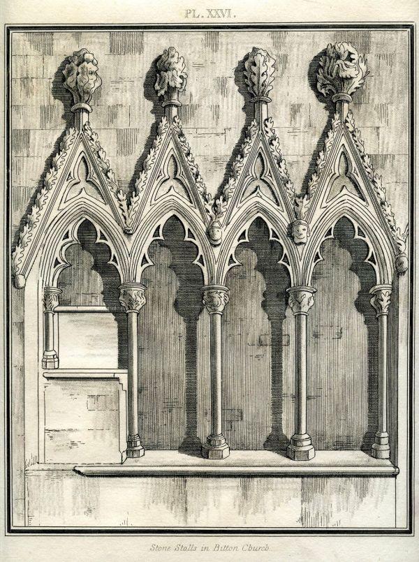 Instant Art Printable - Gothic Architecture