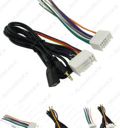 visit to buy car audio cd stereo wiring harness adapter with usb aux [ 798 x 1066 Pixel ]