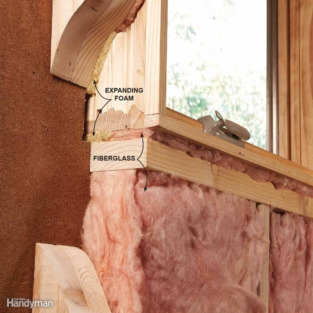 how to fix a hole in a door frame