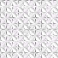 Texture seamless | White interior 3D wall panel texture ...