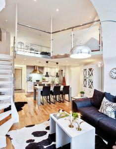 Jurnal de design interior amenaj ri interioare  cu dormitor la mezanin also rh za pinterest