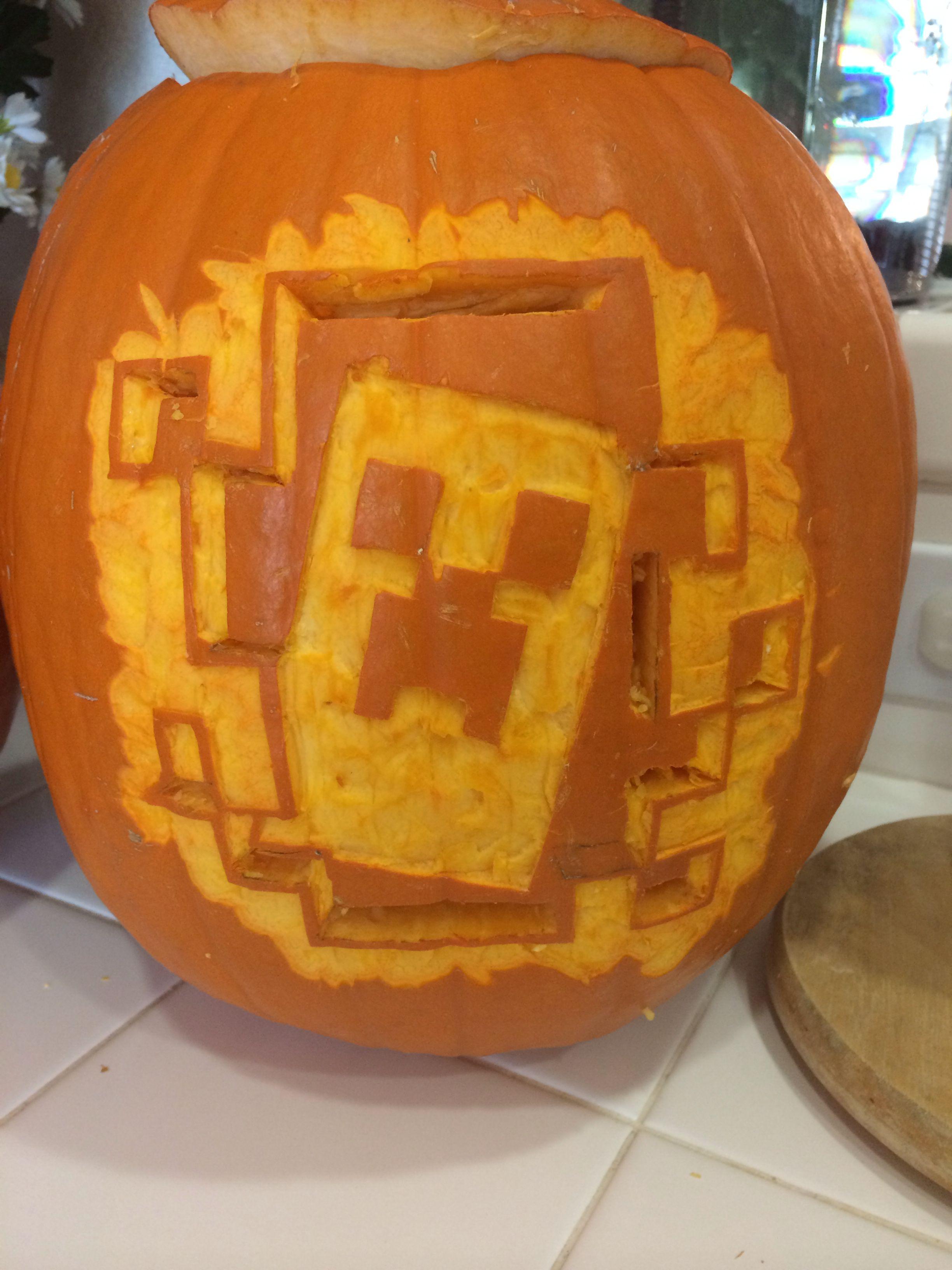 Super Mario Bros Boo Pumpkin Carving Pattern