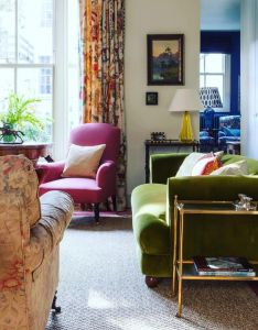 Living rooms also love the jewel like colours in this salvesengraham clients drawing rh pinterest