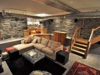 exposed stone basement. | Basement | Pinterest | Basements ...