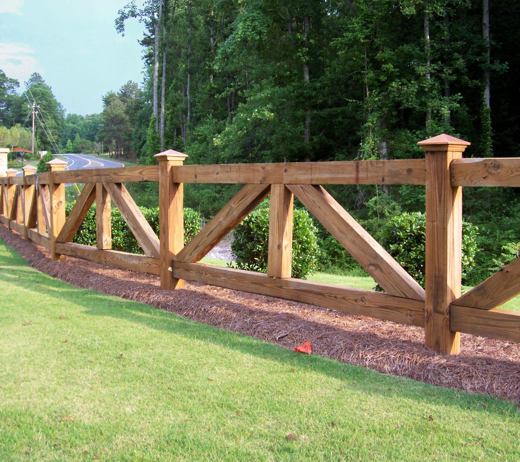 Country Style Fence Ideas