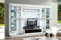 MODERN LIVING ROOM LED TV WALL UNIT, View led tv wall unit