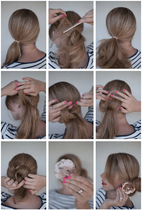 THE SIDE BUN For Step By Step Instructions Go To