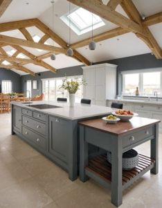 Interiors also spacious open plan kitchen  tom howley interior design rh pinterest